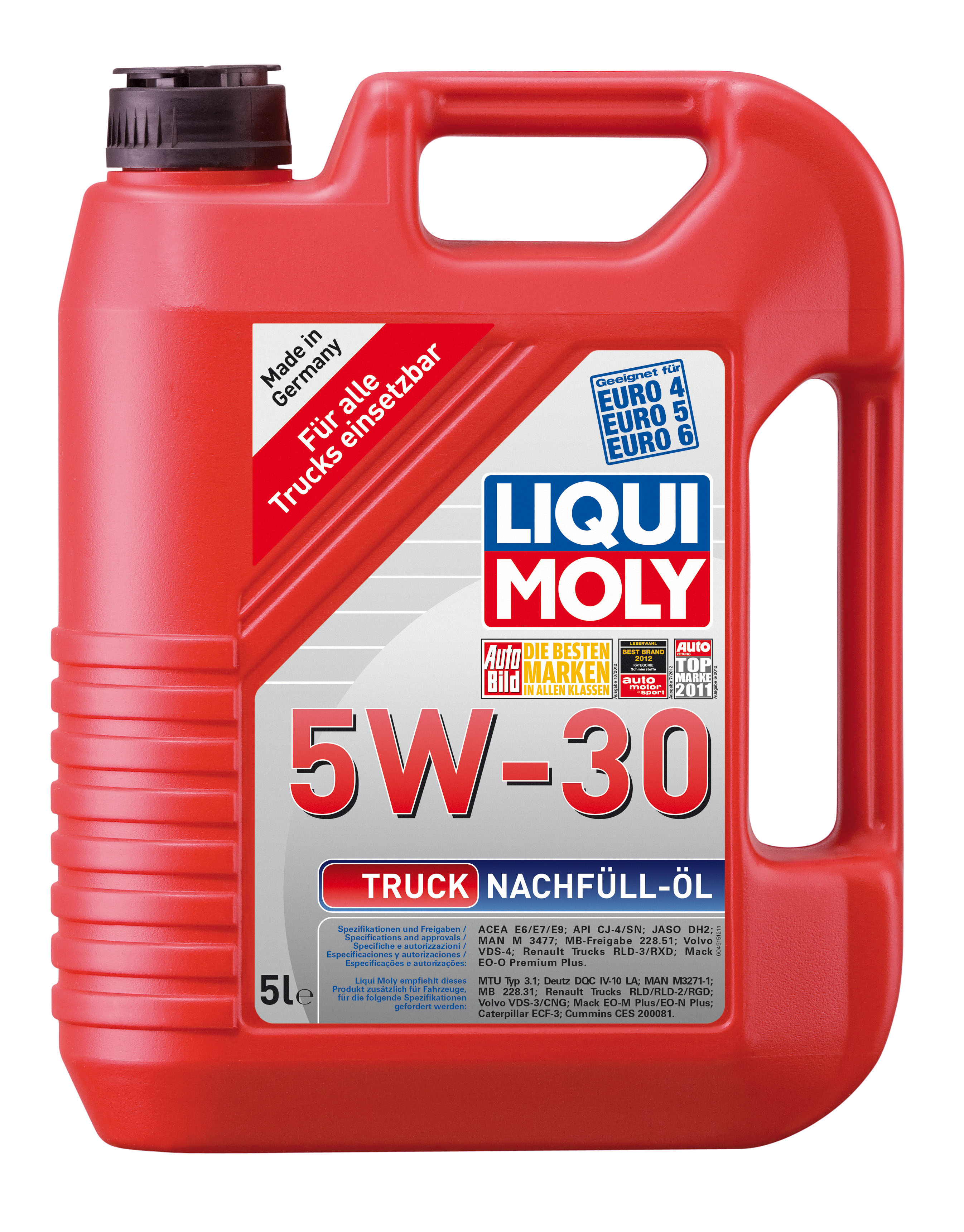 motoroel truck nachf ll l 5 w 30 5 liter liqui moly. Black Bedroom Furniture Sets. Home Design Ideas