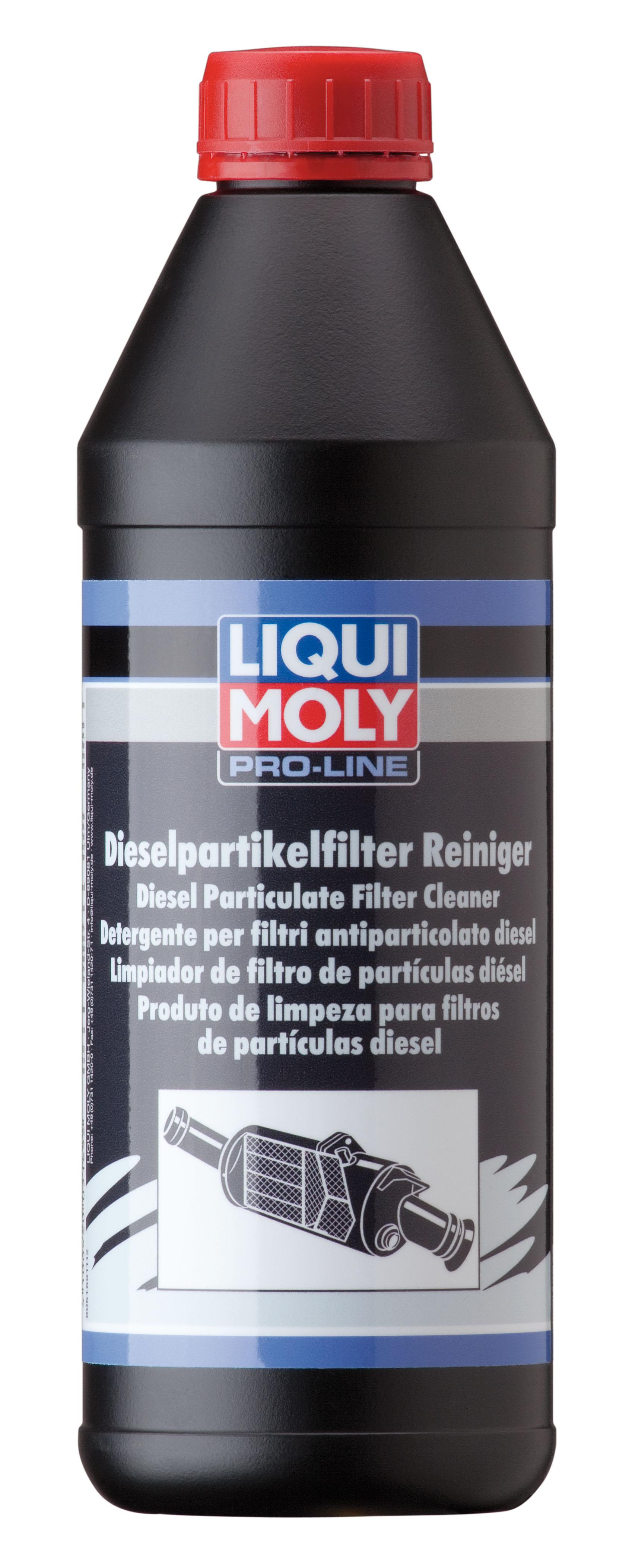 motoroel king liqui moly pro line diesel partikelfilter reiniger 1 liter. Black Bedroom Furniture Sets. Home Design Ideas