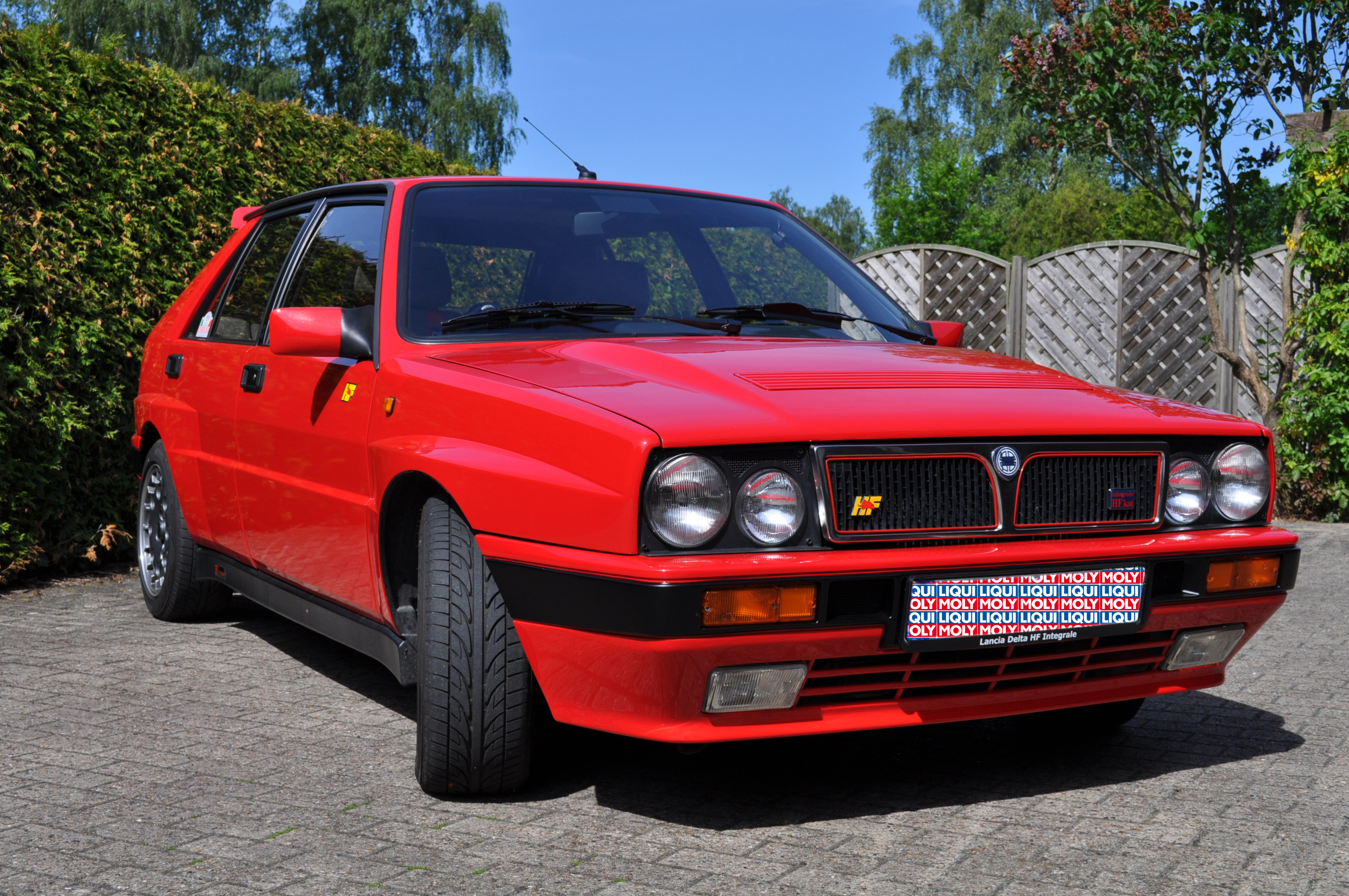 Lancia Delta HF Integrale front