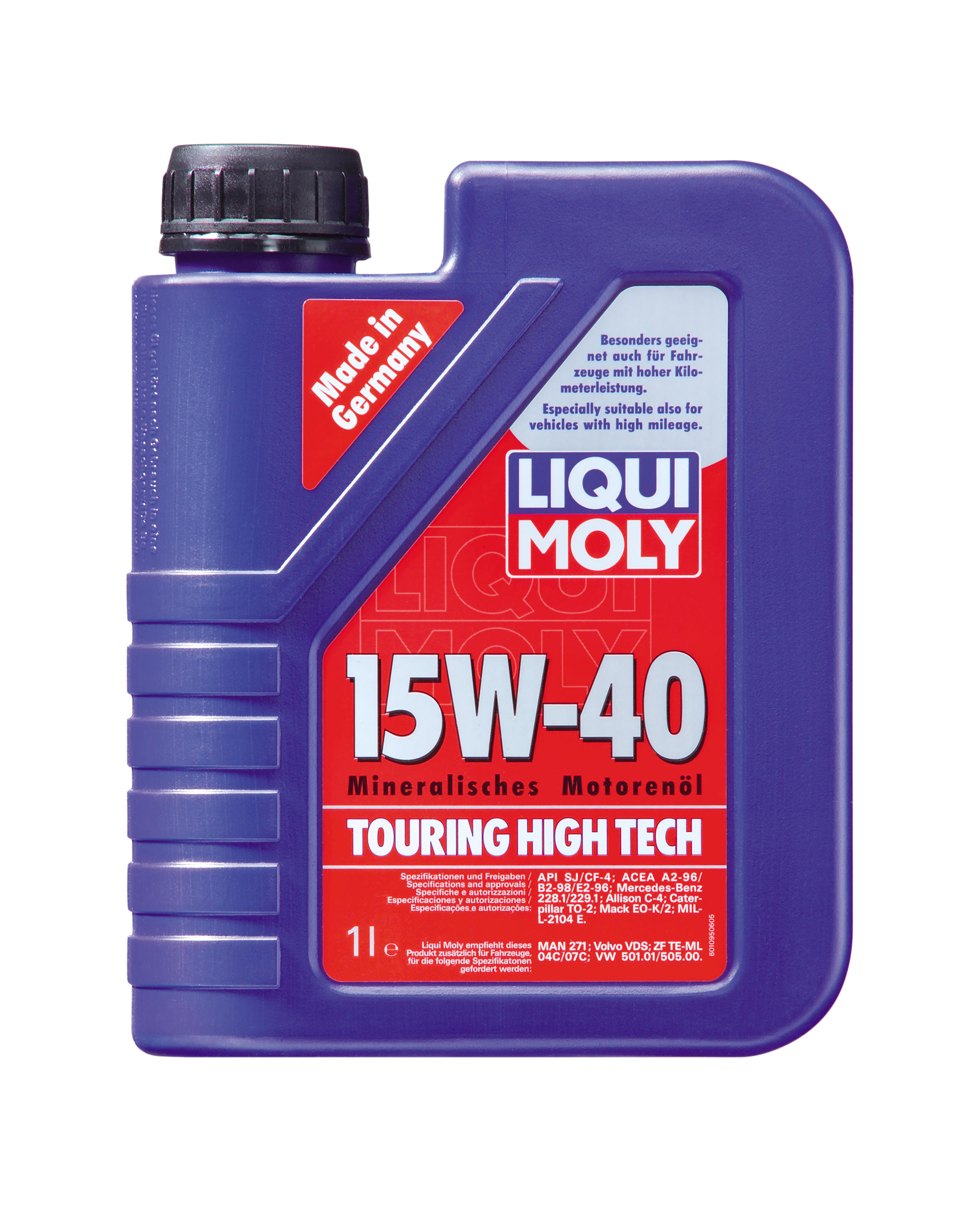 motor l touring high tech 15 w 40 liqui moly motoroel king. Black Bedroom Furniture Sets. Home Design Ideas