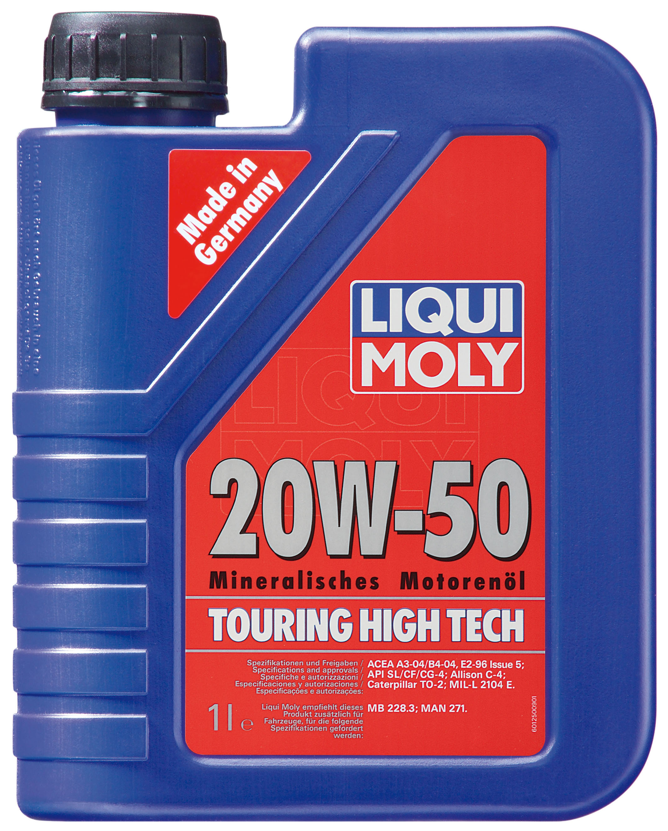 liqui moly 1255 touring high tech motor l 20 w 50 5 liter. Black Bedroom Furniture Sets. Home Design Ideas