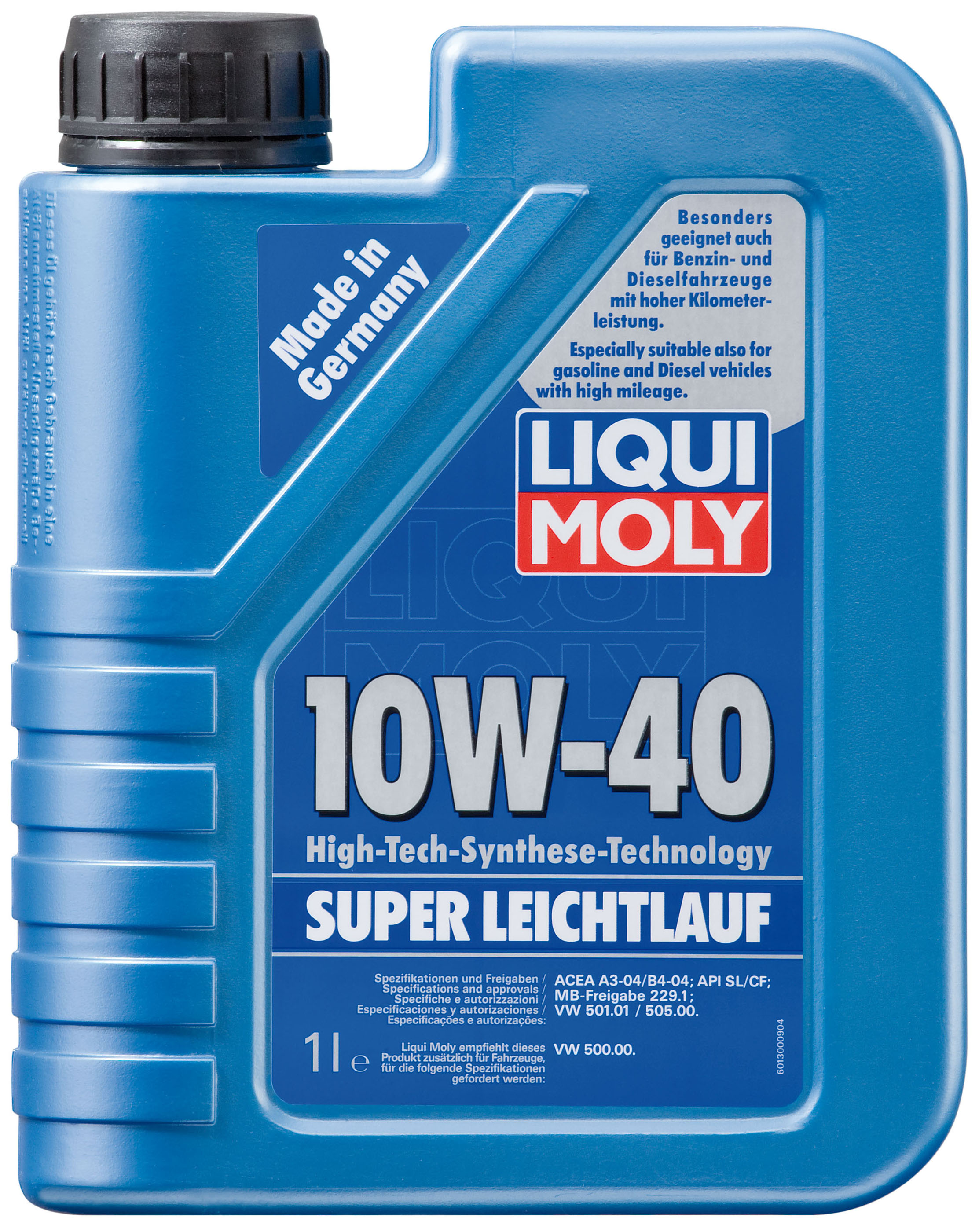 liqui moly super leichtlauf 10w 40. Black Bedroom Furniture Sets. Home Design Ideas