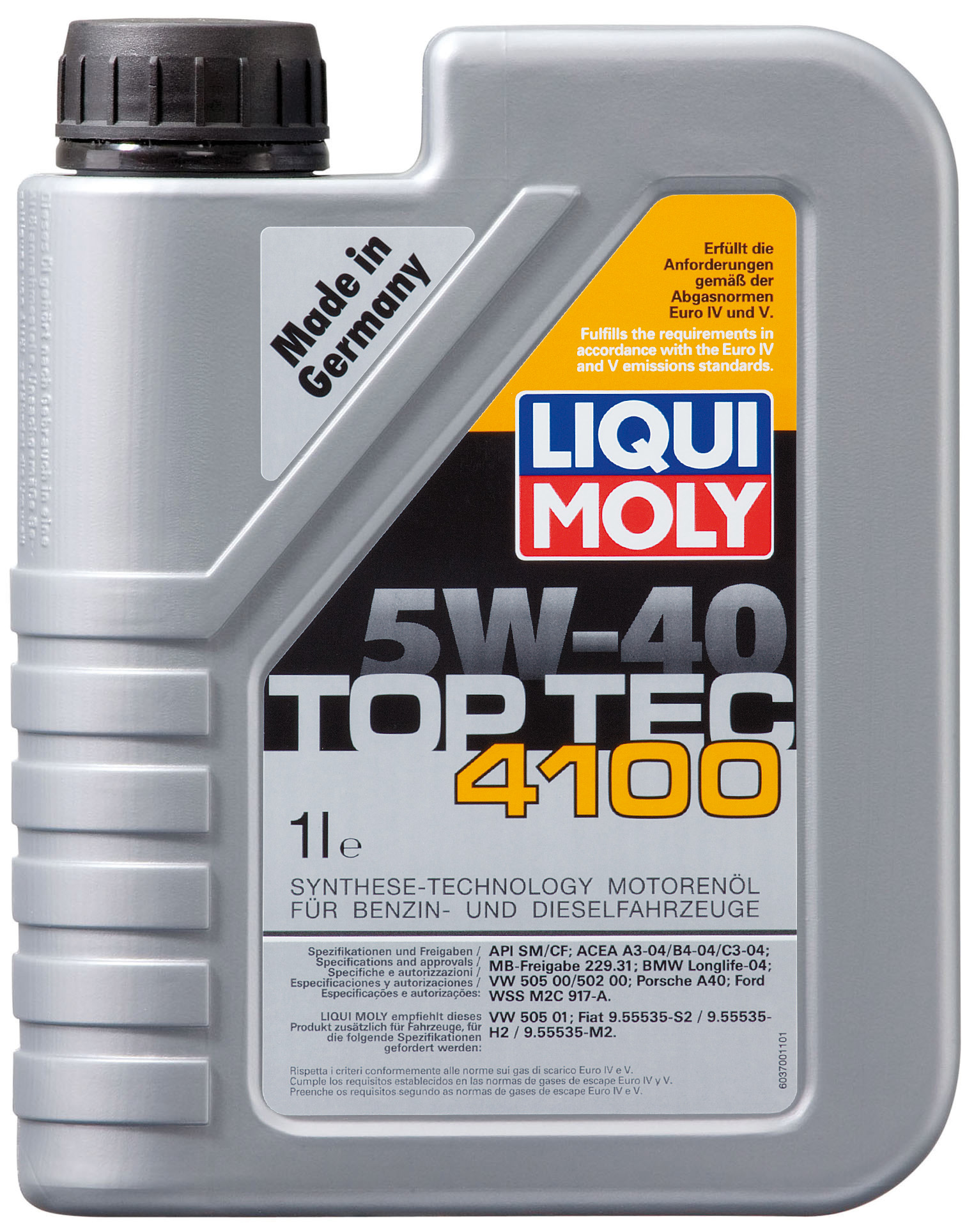motor l top tec 4100 5 w 40 liqui moly motoroel king. Black Bedroom Furniture Sets. Home Design Ideas