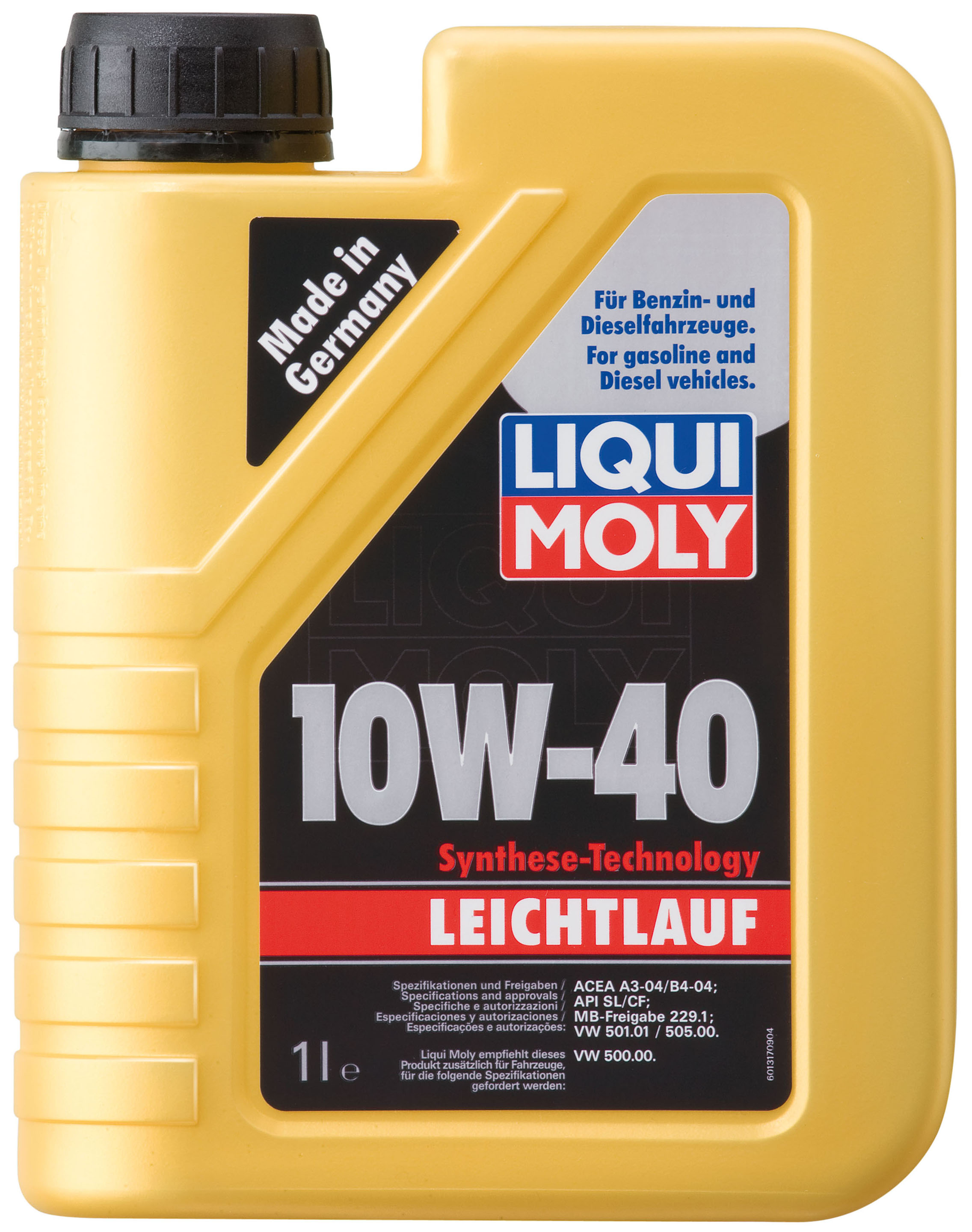 10w 40 leichtlauf liqui moly 1 liter. Black Bedroom Furniture Sets. Home Design Ideas