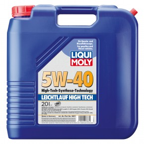 BIG DEAL ANGEBOT! 2x 20 LITER Leichtlauf High Tech 5W-40 LIQUI MOLY