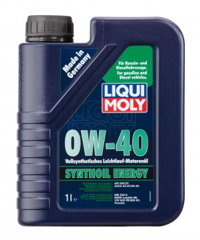 0W-40 SYNTHOIL ENERGY LIQUI MOLY