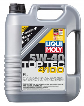BIG DEAL ANGEBOT! 6 Liter LIQUI MOLY Top Tec 4100 SAE 5W-40